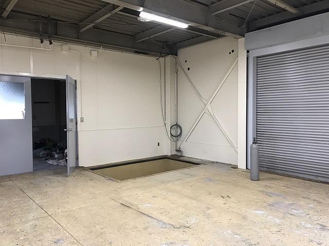 垂直搬送機設置工事