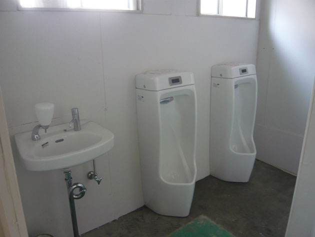 トイレ設置工事1